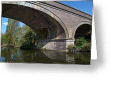 Grand Union Canal Bridge 181 Greeting Card