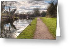 Grand Union Canal Rickmansworth Greeting Card