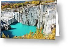 Granite Quarry Greeting Card