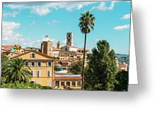 Grasse In Cote D'azur, France  Greeting Card