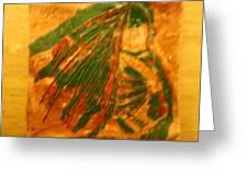 Green  - Tile Greeting Card