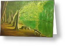 Green River Greeting Card