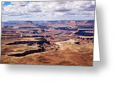 Green River View Greeting Card