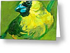 Greenie Greeting Card