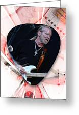 Gregg Allman Art Greeting Card