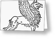 Griffin Greeting Card
