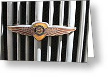 Grill Badge Greeting Card