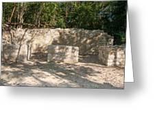 Groupo Mecanxoc At The Coba Ruins  Greeting Card