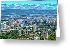 Guatemala City - Guatemala I Greeting Card