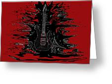 Guitar Of Wonder  Greeting Card
