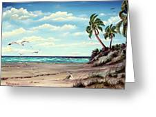 Gulf Dunes Greeting Card