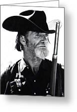 Gun Totting Tombstone Slim Helldorado Days Tombstone Arizona 1968 Greeting Card