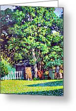 Hackberry Tree Greeting Card