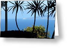 Haifa Bay Greeting Card