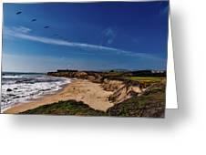 Half Moon Bay Golf Course - California Greeting Card
