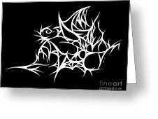 Hallowweb Greeting Card