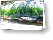 Hamlet Bridge 57 Greeting Card