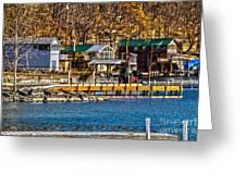 Hammondsport Docks Greeting Card