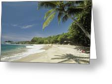 Hana Coast, Hamoa Beach Greeting Card
