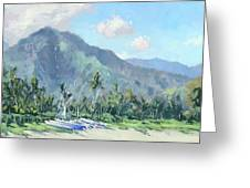 Hanalei Cats Greeting Card