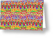 Happy Celebrations Abstract Acrylic Painting Fineart From Navinjoshi At Fineartamerica.com These Gra Greeting Card