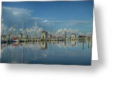 Harbor Morning Greeting Card