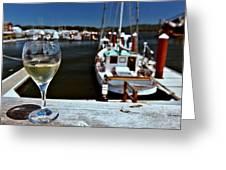 Harbor View. Greeting Card
