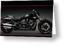 Harley Davidson Vrscd Night Rod Special Greeting Card by Oleksiy Maksymenko