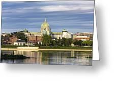 Harrisburg Skyline Greeting Card