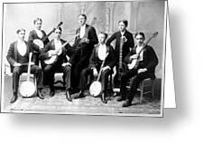 Harvard Banjo Club 1893 Greeting Card