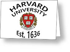 Harvard University Est. 1636 Greeting Card