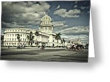 Havana National Capitol Greeting Card