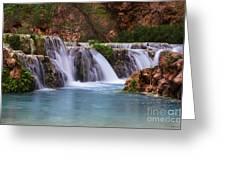 Havasu Creek Grand Canyon 2 Greeting Card