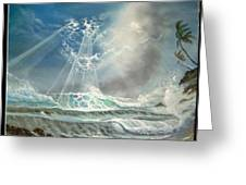 Hawaii Seascape Greeting Card
