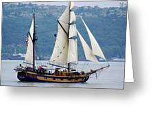 Hawaiian Chieftan Greeting Card