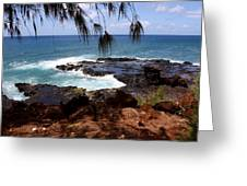 Hawaiian Snapshot Greeting Card