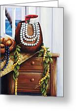 Hawaiian Still Life Panel Greeting Card
