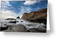 Haystack Rock At Cape Kiwanda Greeting Card