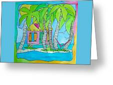 Heart Cottage Greeting Card