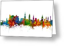 Heidelberg Germany Skyline Greeting Card