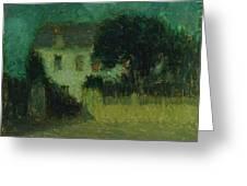 Henri Le Sidaner 1862 - 1939 Moonlight Greeting Card