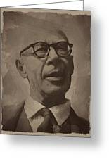 Henry Miller 2 Greeting Card
