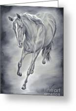Here She Comes Greeting Card by Cathy Cleveland