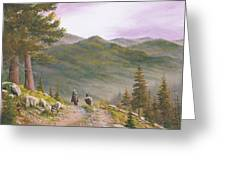 High Country Trails Greeting Card