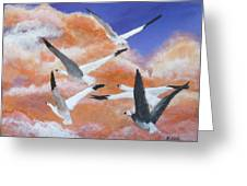 High Flyers Greeting Card