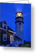 Highland Lighthouse Greeting Card by John Greim