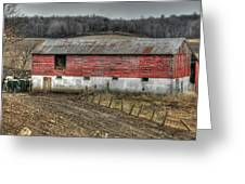 Hill Barn Greeting Card