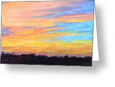 Hill Country Sunrise Greeting Card