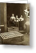 Hine: Child Labor, 1908 Greeting Card