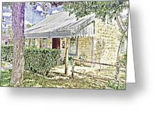 Limestone Cottage Greeting Card